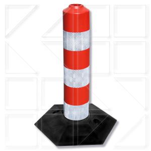 Κολωνάκια σήμανσης καουτσούκ ανεξάρτητης βάσης